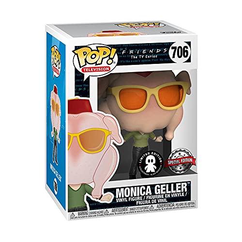 Funko- Figura Pop Friends Monica with Turkey Exclusive, Multicolor, Talla Única (706)