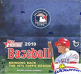 2019 topps heritage baseball