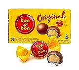 Bombones de Chocolate con Leche y Oblea Rellenos con Crema de Maní, Argentina, box 270g - ARCOR bon-o-bon Original, 270g