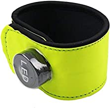 MOYLOR Highly Visible LED Lights Horse Ankle Glow Band for Horseback Riding in Night, Replaceable Battery - 4 Modes (Always Bright/Quick Flashing/Slow Flashing/Off)
