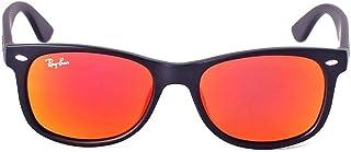 RB2132 New Wayfarer Sunglasses Unisex (Matte Black Frame...