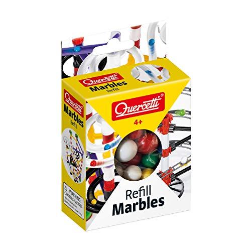 Quercetti 2532 Marbles Refill-d.14 e 19 mm-Murmel, Kugelbahn