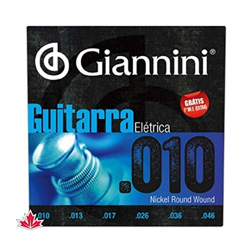 Encordoamento Guitarra Geegst 10, Giannini