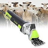 ZPCSAWA Tosatrice Elettrica per Pecore, 850w 2400 Giri/min Professional Goats/Alpaca/Sheep Shear, Accessori di Pulizia per Animali da Allevamento
