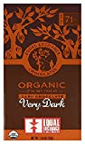 Equal Exchange Organic Very Dark Chocolate Bars, 2.8 Ounce (Pack of...