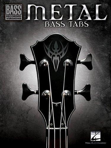 Metal Bass Tabs: Songbook für Bass-Gitarre (Bass Recorded Versions)