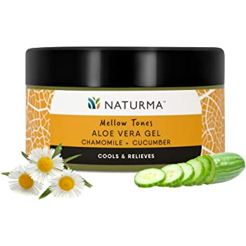 Naturma Peach And Avocado Aloe Vera Gel Natural And Organic Detox Age Defence 100gm Amazon In Beauty