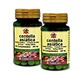 Obire | Centella asiatica (complex) 400 mg | Extracto Seco 60 Comprimidos (Pack 2 unid.)