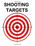 50 Shooting Targets Colored: 8.5' x 11' Shooting Range Target or Bullseye: Great for all Firearms, Rifles, Pistols, AirSoft, BB, Archery & Pellet Guns