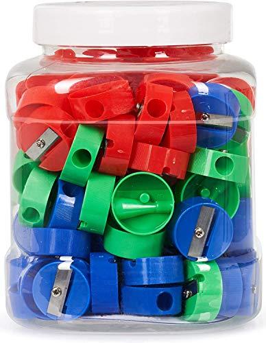 Incredible Value Neliblu Premium Quality Bulk Pencil Sharpeners, 120 Manual Sharpeners
