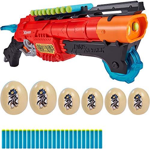 X-Shot - Escopeta con munición y 6 huevos claw hunter dino attack x-shot (46560)
