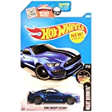 2016 Hot Wheels Night Burnerz 7/10: Ford Shelby GT350R (Dark Blue) by Hot Wheels