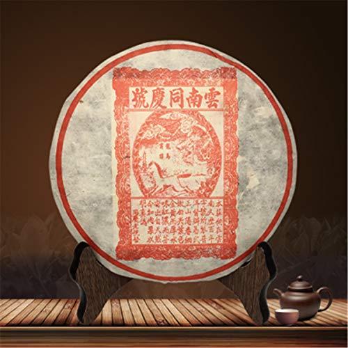 357g (0.787LB Tè Pu'er Tè Maturo Vecchio Tè Puer Yunnan Viola Yunnan Tong Qing Hao Tè Tè Pu'er Tè Nero Pu-erh Al Forno Tè Pu Erh Tè Cinese Tè Puerh Sano Tè Rosso Verde Buono Buono Shu Cha