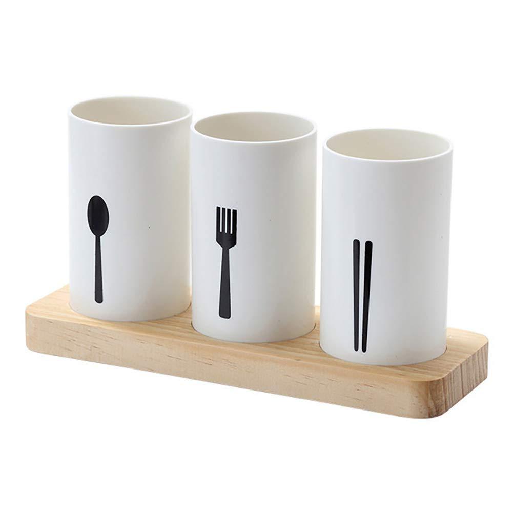 Caja de almacenamiento para palillos chinos de cocina con registro de agua: Amazon.es: Hogar