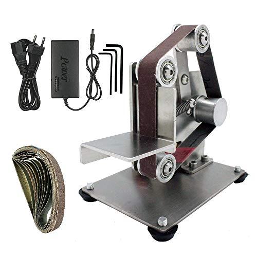 DIY Mini Belt Sander Electric Polishing Grinding Belt Machine Multifunctional Sander Sanding Machine