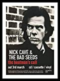 Nick Cave & The Bad Seeds Signiert und gerahmt Foto