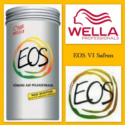Wella Eos Tönung Auf Pflanzenbasis Vi Safran, 165 g