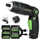GALAX PRO Avvitatore Elettrico,3.6 V Cacciavite Elettrico,Regolazione a 3 posizioni,2.0 Ah batteria...