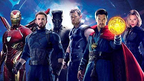 Avengers: Infinity War Puzzle da 1000 pezzi per adulti Bambini Paperypuzzles - Stampa 3D di immagini HD per bambini Regalo educativo - Giocattolo di decompressione fai da te per adulti 38x26cm