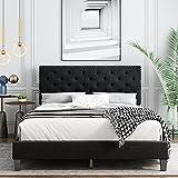Best King Size Beds - King Bed Frame, Upholstered Platform Bed Frame Review