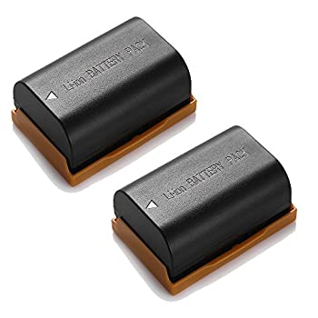 Powerextra 2 Pack Replacement Canon LP-E6 LP-E6N Battery for Canon C700 XC15 EOS 60D 70D 80D 5D Mark II III and IV 5DS 5DS R 6D 7D Cameras BG-E14 BG-E13 BG-E11 BG-E9 BG-E7 BG-E6 Grips