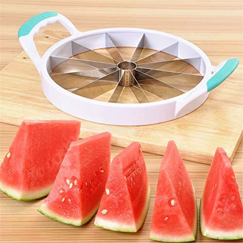 Xbnmw Trancheur de pastèque Ultra-Tranchant, Coupe-pastèque, Coupe Facile, Accessoires pour ustensiles de Cuisine