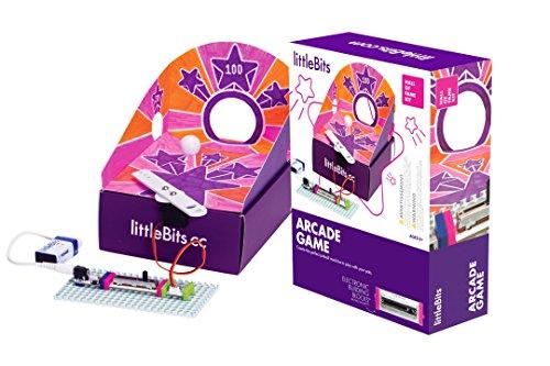 Littlebits 680-0015 Hall of Fame Arcade Starter Kit, Mehrfarbig