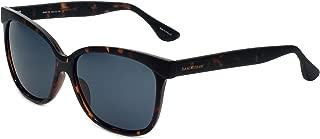 Isaac Mizrahi Designer Sunglasses IM86-20 in Dark Tortoise with Grey Lenses