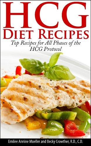 hcg diet recipe book