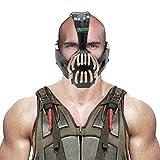 Bane Mask Replica Bronze Version Adult Size for Batman the Dark Knight Rises Xcoser