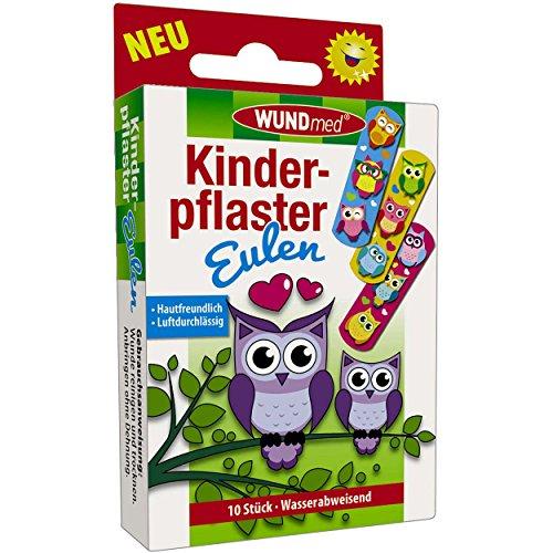 Wundmed 5er Vorteilspack Kinderpflaster Eulen, 5 Pack a 10 Stk. (50 Stk.)