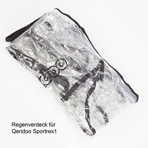 Qeridoo Sportrex1 Regenverdeck
