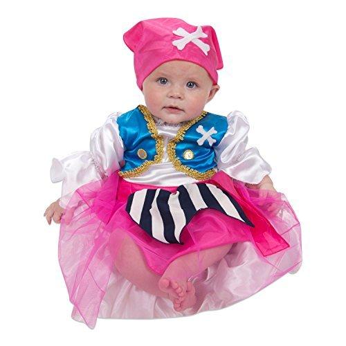 Lucy Locket - Disfraz de Pirata Para Bebá(6-12 Meses)
