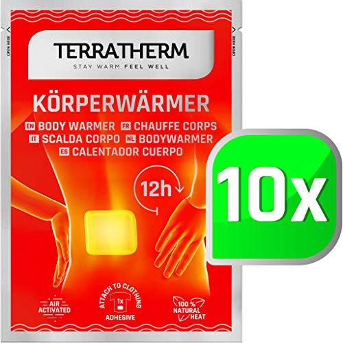 Wärmepflaster Rücken, Nacken und Schulter – 12h wohlige Tiefenwärme, Rückenwärmer – Körperwärmer...