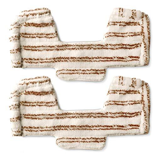 Polti Kit 2 serpillères spécial parquet avec pare choc pour Unico