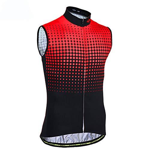 Sunbike Chaleco sin Mangas de Ciclismo sin Mangas para Hombre