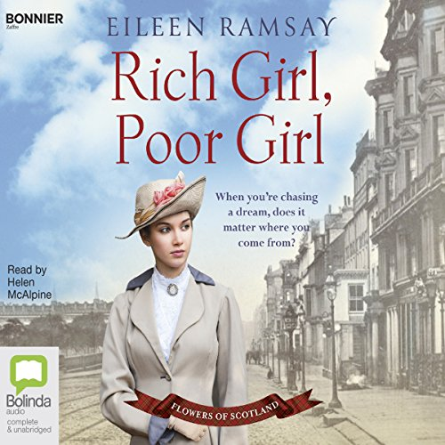 Rich Girl, Poor Girl audiobook cover art