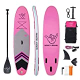 "Best Paddle Boards - WAVEY BOARD Inflatable Stand Up Paddle Board 6"" Review"