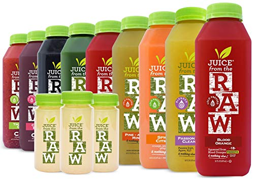 9-Day Vitamin-C Immunity Cleanse by Juice From the RAW - Boost Your Immune System / Lose Weight Quickly / Be Healthy / Detoxify Your Body / 100% Raw Cold-Pressed Juices (18 Bottles + 9 Shots)