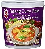 Cock Currypaste, Panang, mittlere Schärfe, authentisch thailändisch Kochen, natürliche Zutaten, vegan, halal und glutenfrei 4er Pack (4 x 400 g Packung)