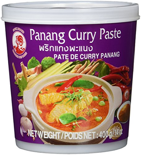 Cock Currypaste, Panang, 4er Pack (4 x 400 g Packung)