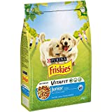 Purina Friskies Vitafit Pienso para Perro Junior Pollo 4 x 3 Kg