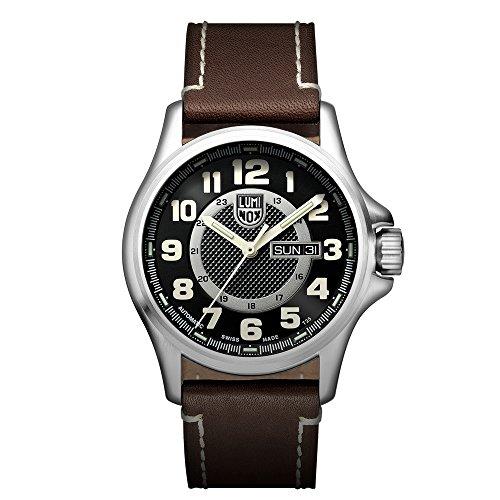 Luminox XL.1801.NV Reloj de pulsera Automático Hombre correa de Cuero Marrón