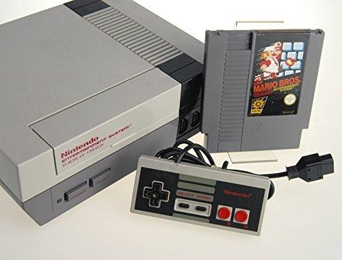 Nintendo NES Konsole mit Super Mario Bros.