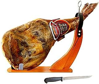 パレタセラーナ 24ヶ月熟成 グランリゼルバ 生ハム原木&台&ナイフの3点セット(パレタセラーノ)[台は選べません]