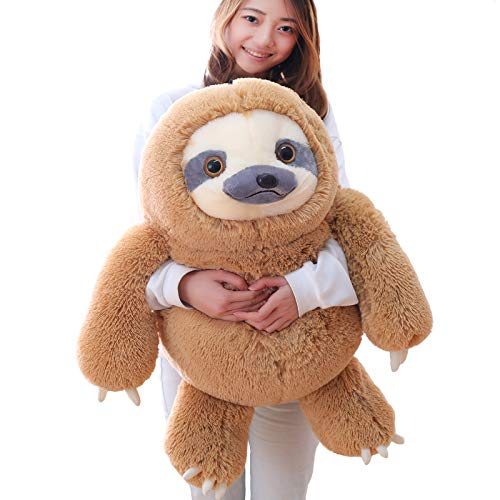 Product Image of the Winsterch Giant Sloth Stuffed Animal Toy, Large Plush Sloth Gifts Baby Dolls...