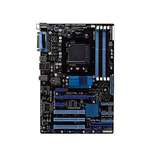 SXGKY Placa Base Fit For ASUS M5A78L LE AM3 + AMD 760G DDR3 Placa Base Placa Base para portátil FFFF