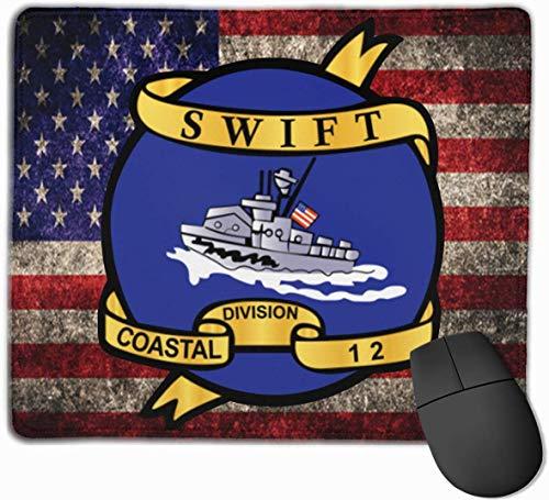 Vietnam Cbt Vet Navy Coastal Div 12 Mauspads rutschfeste Gaming-Mausunterlage Mousepad