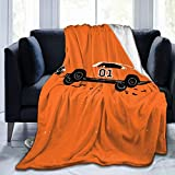 Needlove Dukes Hazzard County Throw Blanket Suitable Ultra Soft Weighted Bedding Fleece Blanket for Sofa Bed Office 50'x40' Travel Multi-Size for Adult