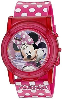 Disney Minnie Mouse Boutique LCD Pop Musical Watch (Model: MBT3714SR)